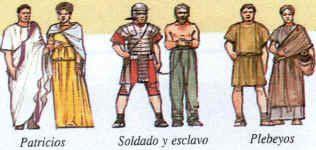 Los Romanos como todo imperio con un poder centralizado construían magníficos edificios y se organizaban en sociedades muy jerarquizadas y desiguales.