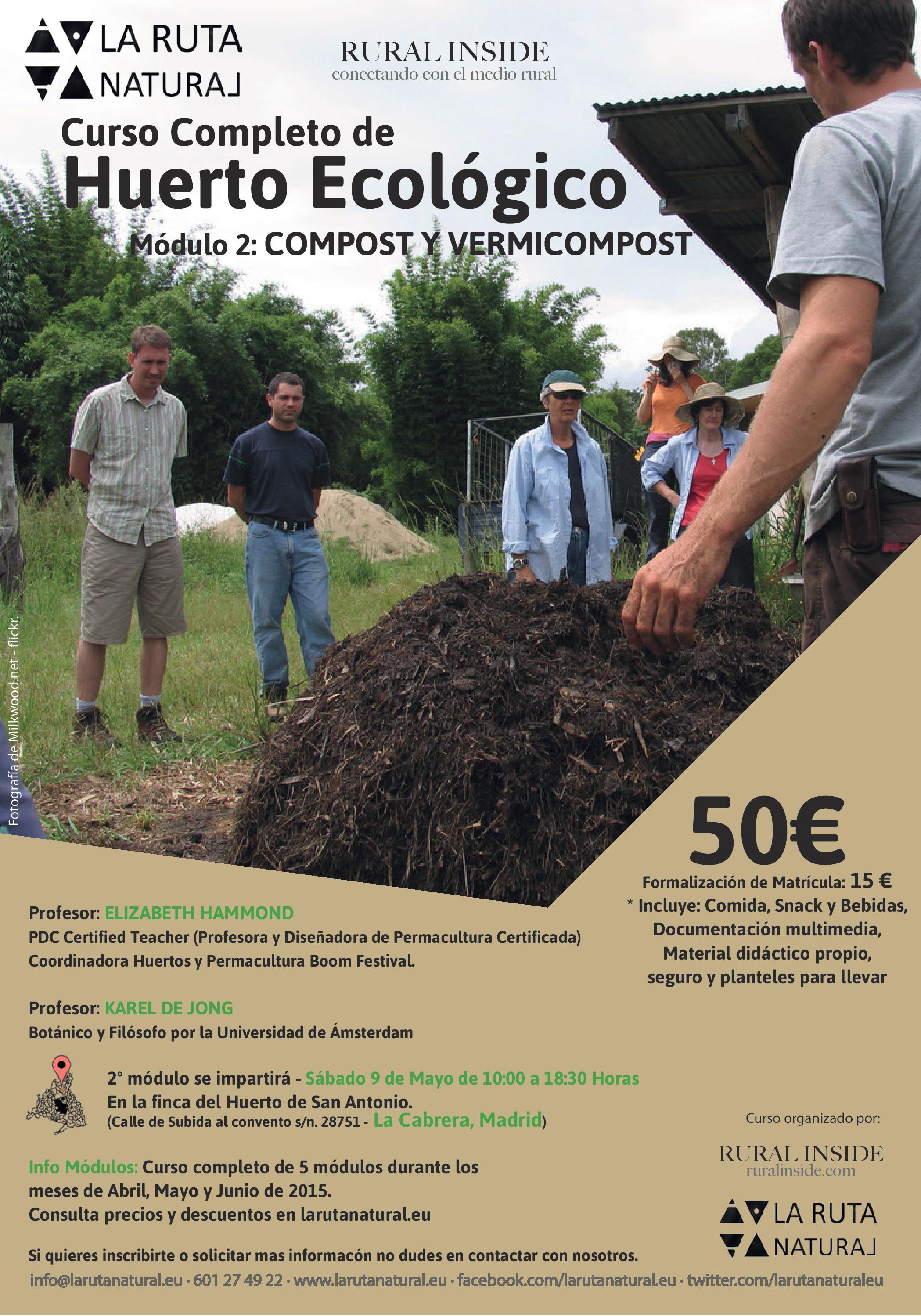 Curso Completo Diseño y Cultivo Huerto Ecológico – Módulo II – Compost y Vermicompost