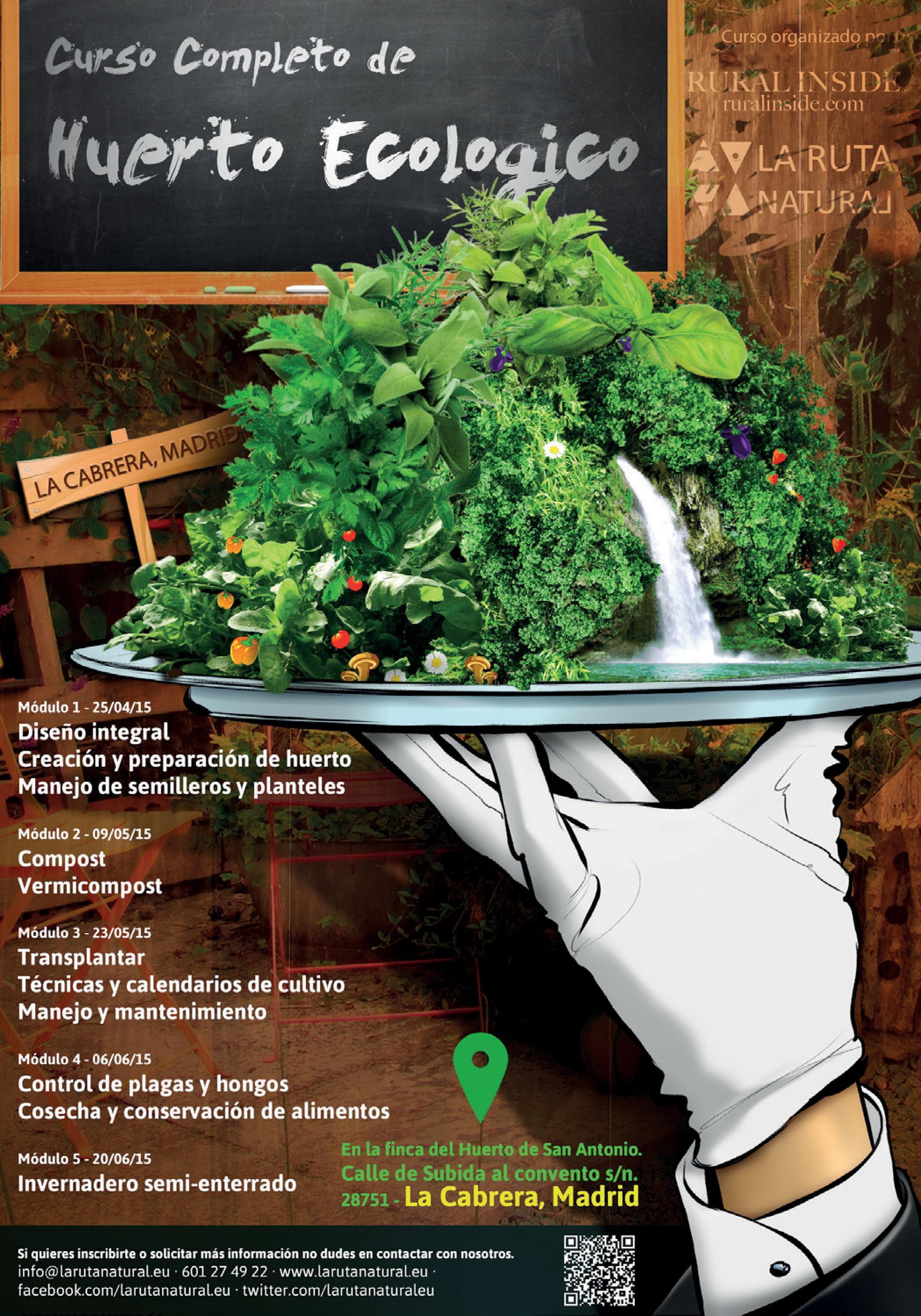 Rural Inside y Larutanatural: Calendario Completo Cursos Primavera 2015