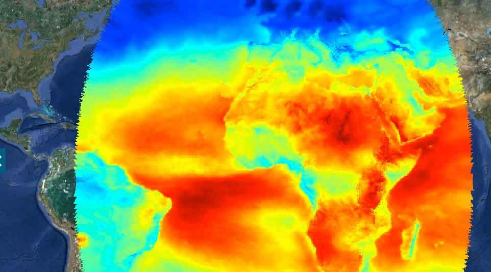 IRENA crea «Google Earth» para Energías Renovables