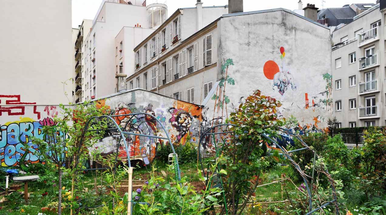 La envidiable experiencia de los «jardín partagé» de París.